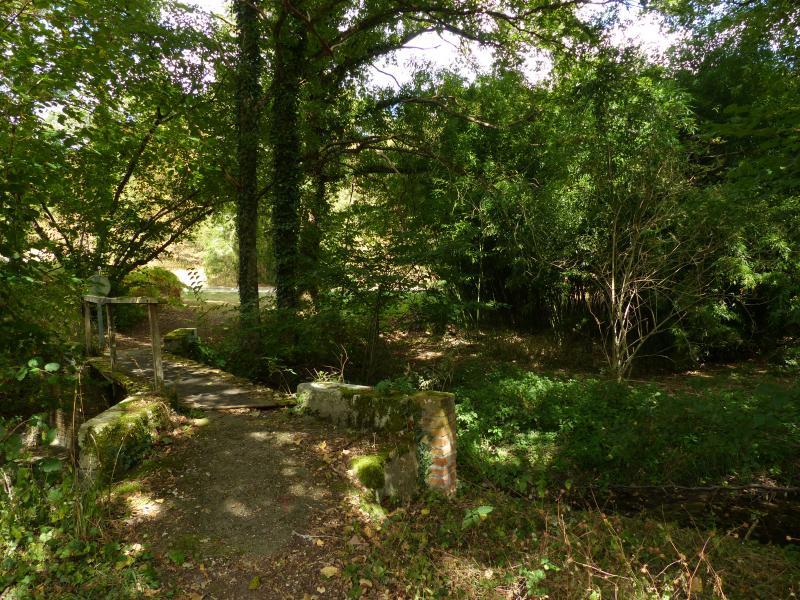 Passerelle de Glatigny sur le Beuvron